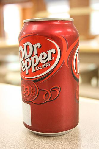 Dr Pepper (soda/pop)